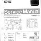 Philips 33PV7996 00B 19B  Technical Repair Schematics Circuits Service Manual