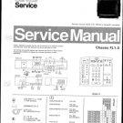 Philips 33SL5796 00B 10B 13B 16B 19B Technical Repair Schematics Circuits Service Manual