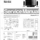 Philips 36ML8908 20B 30B 33B 39B Technical Repair Schematics Circuits Service Manual