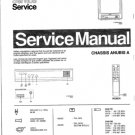 Philips 37ZZ3233 08B 22B 38B Technical Repair Schematics Circuits Service Manual