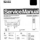 Philips 38ZZ3253 03B 06B 08B 09B 11B 13B 16B 22B 26B 31B 33B Technical Repair Schematics Circuits Se