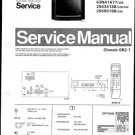 Philips 63NA1617 22B 23B 28B 29B 33B 36B Technical Repair Schematics Circuits Service Manual