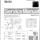 Philips 63QW7619 23R 28R Technical Repair Schematics Circuits Service Manual