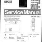 Philips 70CA1705 23B 28B 33B 36B Technical Repair Schematics Circuits Service Manual