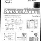 Philips 70QW7719 03R 08R 13R Technical Repair Schematics Circuits Service Manual