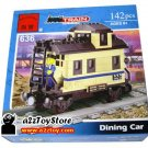 Train Series-Dining Car Building Block MISB