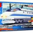 Train Series-Express Locomotive Building Block MISB