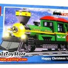 Train Series-Happy Christmas Locomotive Building Block