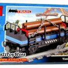 Train Series-Timber Car Building Block MISB