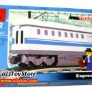 Train Series-Express Car Building Block MISB