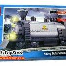 Train -Heavy Duty Steam Locomotive Building Block MISB