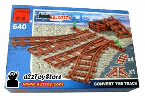 Train Series-Track Converter Building Block MISB
