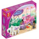 Girl's Dream-Royal Carriage Building Block MISB