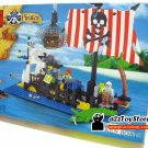 Pirate Series-Sunken Boat Building Block MISB