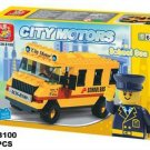 City Motors Series - School Bus Building Block MISB