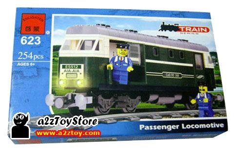 Train Series-Passenger Locomotive Building Blocks MISB