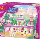 Girl's Dream-Princess Castle B Building Block MISB