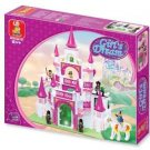 Girl's Dream-Fantasy Castle Building Block MISB