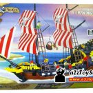 Pirates Ship Series - Black Pearl Building Block MISB