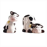 Cow Salt and Pepper Shakers 27095