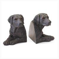 Black Labradors Bookends 36987