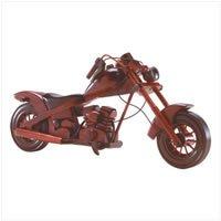 Wood Model Chopper Motorcycle