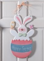 Easter Bunny Plaque