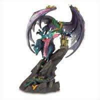 Fierce Dragon Figurine