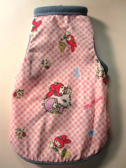 Dog Shirt, Dog clothes, Pet Apparel - My Melody shirt -  M