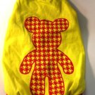 Dog Shirt, Dog clothes, Pet Apparel - Micky shirt (Yellow and Red) - XS , S
