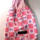 Dog Shirt, Dog clothes, Pet Apparel - Pink cute hoodies - XS