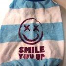 Dog Shirt, Dog clothes, Pet Apparel - Smile you up shirts - S, M