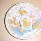 Cherished Teddies Wee Willie Winkie Collector Plate