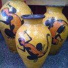 Gecko Vases
