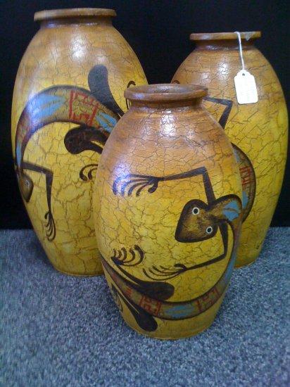 Vase Set Lizard