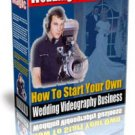 Secret of Starting your Own Wedding Videography Business Ebook
