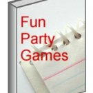 Party Games Ebook