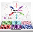 Power Bullet - 3 Speed Vibrators Display Kit - 1 package of 24