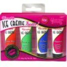 California Fantasies - Kissible Ice Cream Treats Lubricants - 4 Flavors per Box