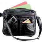 """14"""" Weekender Leather Tote Bag"""