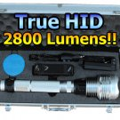 Tactical 35W HID Flashlight 2800 LM 2+ Hour Battery USA