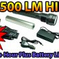 HID Country 35W HID Flashlight 2500 LM 2+ Hour Battery