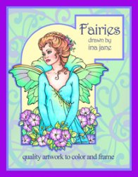 Fairies - Quality Art to Color and Frame