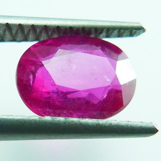 1.90ct. UNHEATED! 100% NATURAL OVAL RUBY MOZAMBIQUE