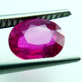 1.80ct. UNHEATED! 100%NATURAL OVAL RUBY MOZAMBIQUE