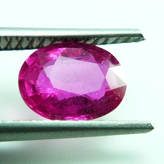 1.50ct. UNHEATED! 100%NATURAL OVAL RUBY MOZAMBIQUE