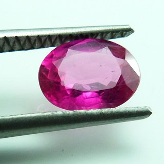 1.55ct. UNHEATED! 100% NATURAL OVAL RUBY MOZAMBIQUE