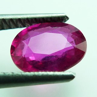 1.50ct. UNHEATED! 100% NATURAL OVAL RUBY MOZAMBIQUE