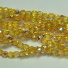 "Light Topaz AB Firepolish 3mm (11"")"