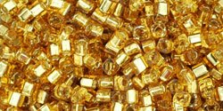 Gold Cube 4mm
